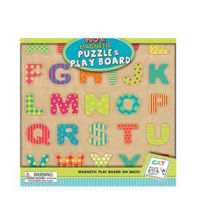 ABC磁铁套装 ABC Magnetic Puzzle and Play Board 内含26块字母磁铁