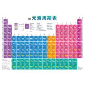 元素周期表 蔡苹、程功臻  主编 9787122275226 化学工业出版社 正版图书