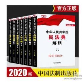 现货速发】中华人民共和国民法典解读 全7册民法典要义