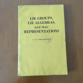 LIE GROUPS, LIE ALGEBRAS, and their REPRESENTATIONS(李群、李代数及其表示 英文版)