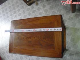 晚清精品榉木琴凳(面板纹理漂亮)