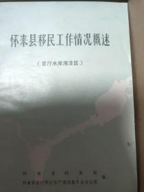 怀来县移民工作情况概述(官厅水库淹没区)