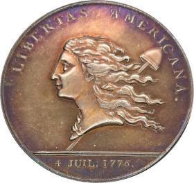 美国奖章1781银元