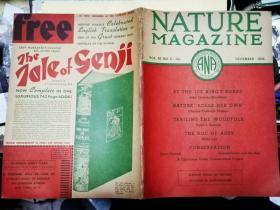 NATURE MAGAZINE VOL.26,NO.6  DEVEMBER 1935 自然杂志第26卷,6号1935年12月    【美国大自然协会编印】