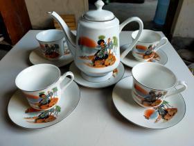 茶壺 茶杯   九十年代
