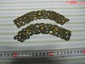民国精品铜件两块(工艺精湛)