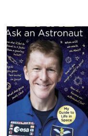 问宇航员 英文原版 Ask an Astronaut: My Guide to Life in Space Tim Peake Century 天文学