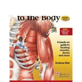 Trail Guide to the Body Flashcards 2 英文原版 身体抽认卡