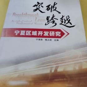 突破·跨越:宁夏区域开发研究
