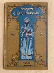 珍稀本  : 《鲁拜集》Robinson插图并装饰  Rubaiyat of Omar Khayyam