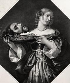 德累斯顿画廊系列 石版画 莎乐美