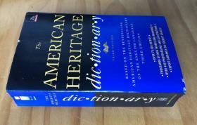原版美国英语历史词典 The American Heritage Dictionary of the English Language