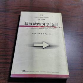 新区域经济学论纲——河南大学经济学学术文库