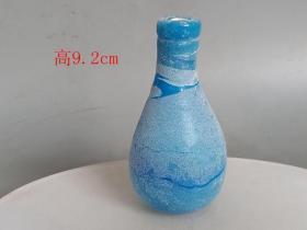 鄉下收的戰漢老琉璃瓶.