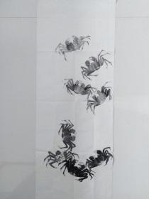中国水墨画~~蟹