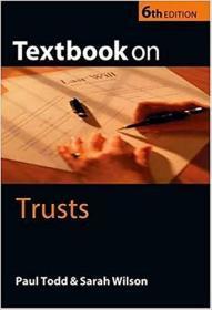 �拌揣  Textbook On Trusts