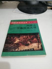 内蒙古历史文化丛书;内蒙古少数民族风情【1993年一版一印】