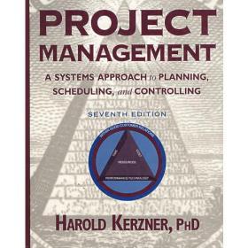 Project Management项目管理:计划、进度和控制的系统方法