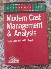 Modern Cost  Management  & Analysis(现代成本管理分析)