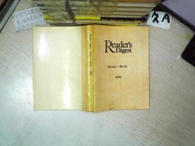 READERS DIGEST JANUARY MARCH 1990 璇昏������1990骞�1-3��锛��辫��锛�01
