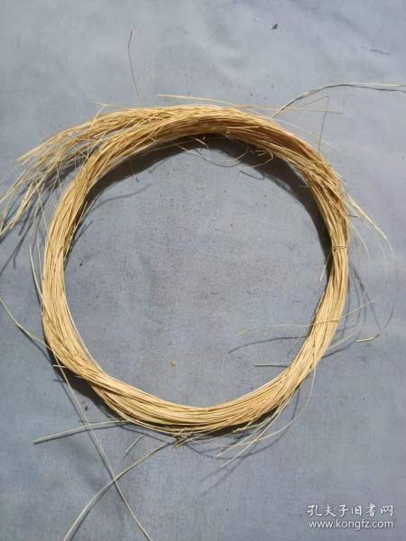 (箱14)民國 編織斗笠繩一捆,,直徑17cm