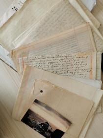 外国英国英文古董手稿文献信件 此链接为图上一份的价格 若需要看其他手稿请直接联系我