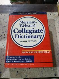 Merriam-Websters Collegiate Dictionary:《韦氏大学词典》(外文)