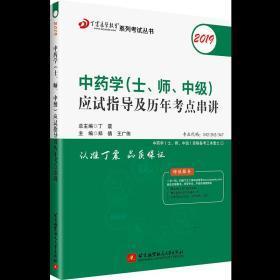 2020中*学士 师 中级应试指导及历年考点串讲 丁震 9787512429192 北京航空航天大学出版社 正版图书