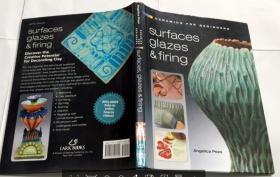 Ceramics for Beginners: Surfaces, Glazes & Firing[陶瓷,对于初学者:表面,釉及烧制] 英文原版  精装