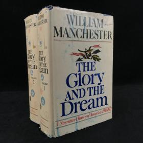 1973年,威廉·曼彻斯特《光荣与梦想:1932-1972年美国社会实录》(全2卷),厚本精装,The Glory and the Dream: A Narrative History of Amer