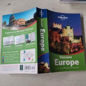 Lonely Planet: Discover Europe (Discover Mult-Country) 孤独星球旅行指南:发现欧洲