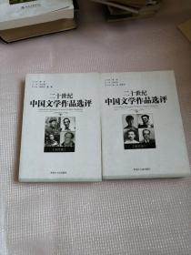 二十世纪中国文学作品选评(当代卷,现代卷)