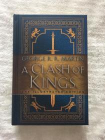 一印冰与火之歌列王的纷争插画版普通版精装A clash of kings illustrated edition