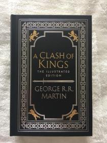 一印冰与火之歌列王的纷争英版插画版普通版精装A clash of kings illustrated edition