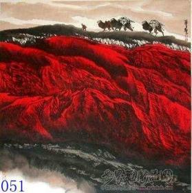 周尊圣红山水