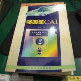 多媒体CAI祝智庭主编大16开181页电脑计算机书籍
