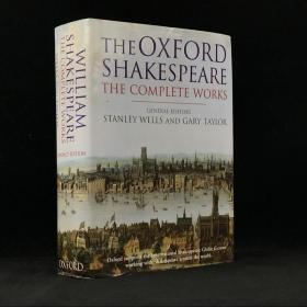 1998年,《莎士比亚作品全集》,牛津大学出版,精装厚重18开,William Shakespeare The Complete Works