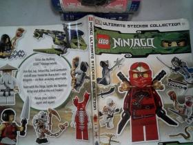 Lego Ninjago Ultimate Sticker Collection  樂高幻影忍者貼紙集