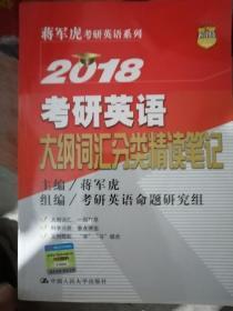 2018年考研英语大纲词汇分类精读笔记