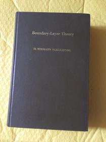 Boundary-Layer Theory 边界层理论