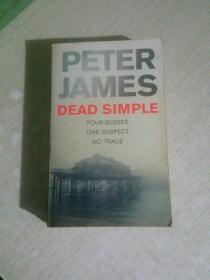 PETER JAMES DEAD SIMPLE