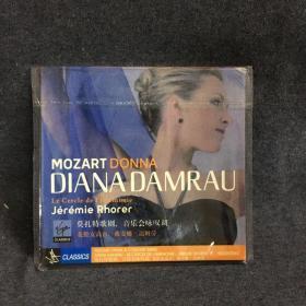 莫扎特歌剧音乐会咏叹调  花腔女高音 戴安娜 达姆芬  CD    碟片 外国唱片  光盘  (个人收藏品) 绝版