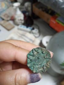 老物件印压一个,材质铜,年代距今800年货更久,包真包老,售出不退。