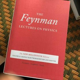 the Feynman  lectures on physics the new millennium edition 费恩曼物理学讲义新千年版英文