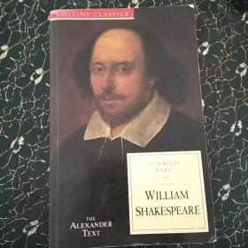 Complete Works of William Shakespeare (the Alexander Text) 莎士比亚全集英文原版