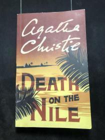 Death on the Nile  尼罗河上的惨案  英文 有点字迹