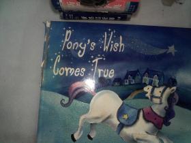 Ponys Wish Comes True書脊有破塤