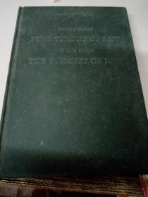纯粹法学理论~法律的概念(第一版)(英文版)pure theory of the law & the concept of law
