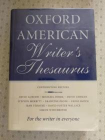 Oxford American Writers Thesaurus 英文原版