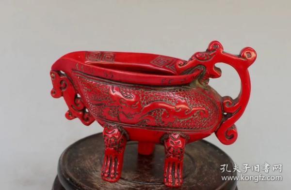 樹脂紅色帝王杯 爵杯